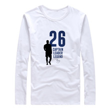 2017 Autumn Winter Men J.T Leader Chelsea Legend Captain John George Terry T-Shirt Long Sleeve T SHIRT Fashion W1101112