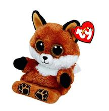 Ty Peek-A-Boos Sly The Fox Phone Holder Plush Stuffed Animal Collectible Soft Big Eyes Doll Toy(China)