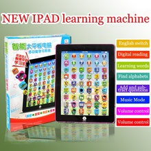 2017 Children English Learning Machine Tablet Toy Pad Learning Machine Kids Laptop Pad Learning Education Toys For Children Baby(China)