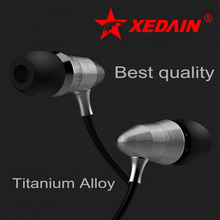 XEDAIN X8 3.5MM sport Earphones Super Bass metal Head phone hifi running headsets stereo earbuds for iphone4/5/6 Samsung MP3 MP4