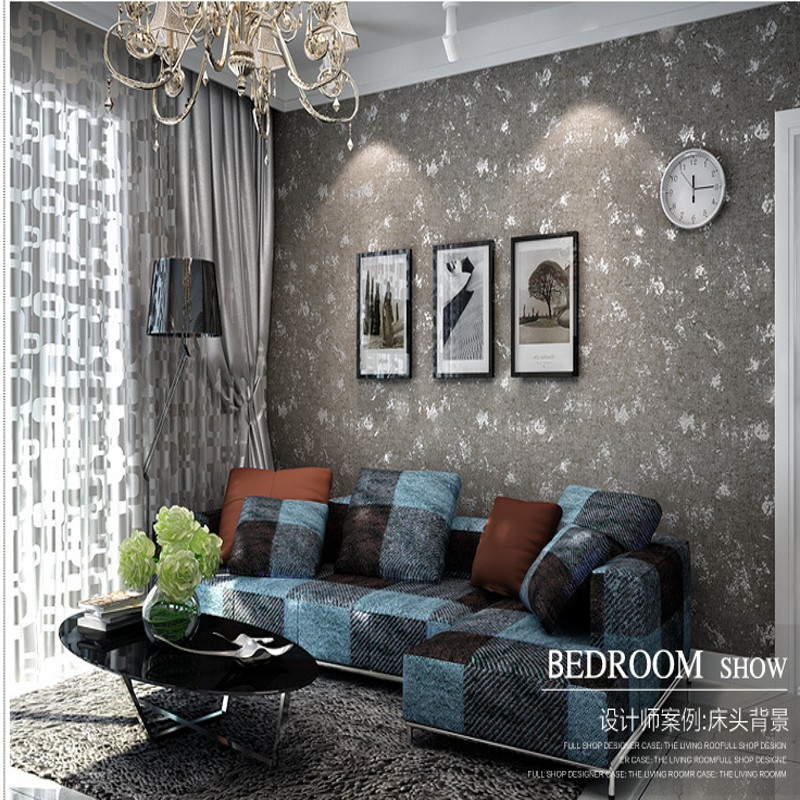papel de parede Non-woven wall paper plain solid color living room TV backdrop bedroom wall full of shops and minimalistic hotel<br><br>Aliexpress