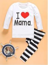 Buy Retail Kids Cartoon pyjamas clothes sets Children New Long Sleeve Pajamas Baby Girl Boys Sleepwear size 2-7T for $6.83 in AliExpress store
