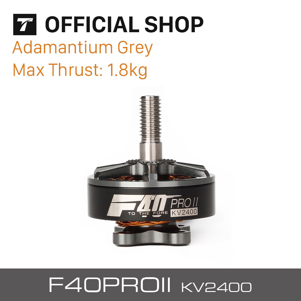 T-motor New Released FPV Drone Professional F40 PRO II 2400KV Brushless Electrical Motor Grey For Rc Drone  <br>