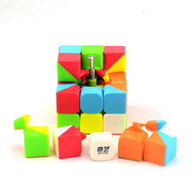 Newest QiYi Warrior W Magic Cube 3x3x3 Stickerless Profissional Competition Speed Cube Puzzle Cubo Magico Cool Toys For Boy(China)