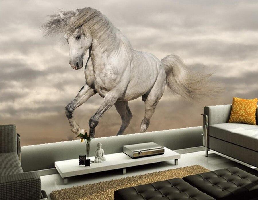 3d custom wallpaper,Horses Sand Animals murals,hotel dining room tv sofa wall children bedroom photo 3d papel de parede <br><br>Aliexpress