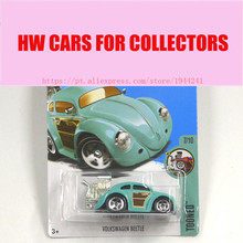 2017 New Hot Wheels 1:64 blue volkswagen beetle car Models Metal Diecast Car Collection Kids Toys Vehicle Juguetes Models(China)