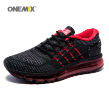2017 Air Cushion Running Shoes Breathable Massage Sneakers Man Jogging Sport Sneakers for Outdoor Walking Shoe Run Comfortable(China)