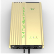 500W MPPT Solar Power on Grid Tie Inverter with dc- dc 40-60V or 36V Battery AC 90v-140V,180V-260V Pure sine wave inversor 220v(China)