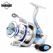 SeaKnight Rock Bass Carp Spinning Fishing Reel Metal + Extra Spool + Reel Cover Spin Fishing Gear Wheel Coil