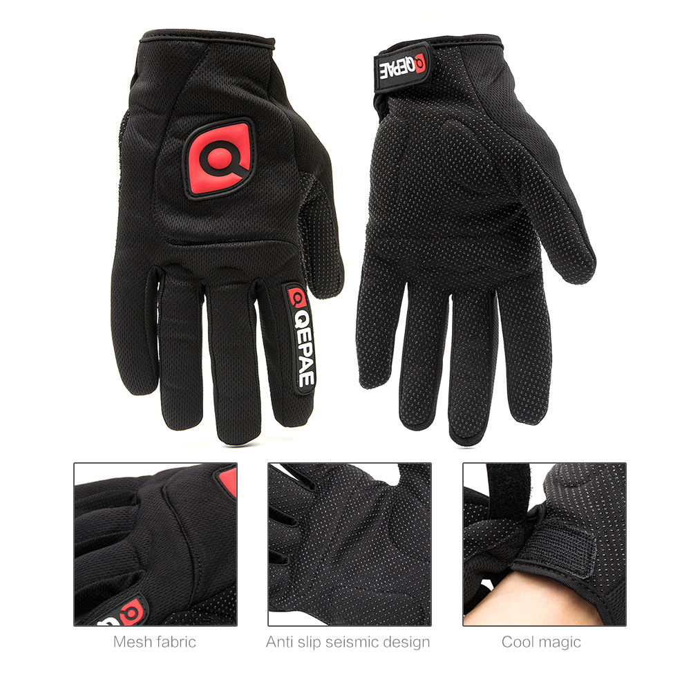 Qepae Full Finger Motorcycle Winter Gloves Screen Touch Guantes Moto Racing/Skiing/Climbing/Cycling/Riding Sport Motocross Glove 22