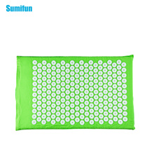 Acupressure Mat Export to Japan Back or foot Massage Cushion Shakti Mat Mild Acupuncture mat Yoga Mat Relieve Stress C11417(China)