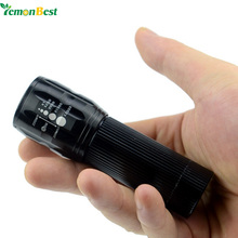LemonBest 2000LM LED Flashlight Lanterna de led linternas Torch Zoomable lamp mini flashlight led light lantern bike light