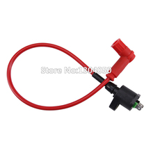 High Red Peformance Ignition Coil For Modified 50cc 70cc 90cc 110cc 125cc Dirt Pit Pocket Monkey Bike Free Shipping