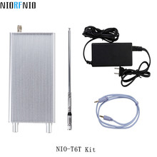 Free Shipping NIO-T6T 6W FM Broadcast Transmitter with TF Card Player 76MHz to 108MHz(China)
