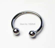 Buy Double Beads Stainless Steel Cock Rings / Dildo Ring / Time Delay Penis Ring Erotic Sex Products Man