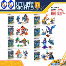Toy Dream 8pcs/set Nexus Knights Future Castle Warrior Building Blocks bricks Compatible kids Toys children gifts - The Wind Rises Store store