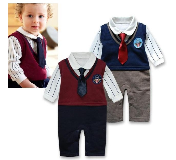 new 2014,summer clothing set,newborn baby romper,gentleman tie style,baby bodysuit,baby overall<br><br>Aliexpress