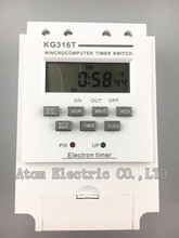 KG316T mincrocomputer timer switch electric timer 220v  Electronic timer  street lamp timing switch time controller