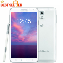 "N9005 Original Samsung Galaxy note 3 N9000 Mobile phone Quad Core 5.7"" Inch RAM 3GB Android 13MP WIFI GPS Refurbished Smartphone"