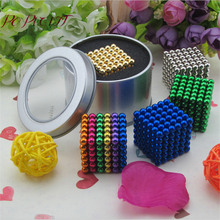 216Pcs Stress Toy Fidget Magic Cube Magnetic Ball 216 Pcs Magic Beads Magic Cube NdFeB Magnetic Ball 5MM 216Pcs