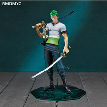RMDMYC 2017 Anime Figure 11 Style One Piece Action Figure Toys Two Years Later Roronoa Zoro PVC Model Dolls Toys for Children