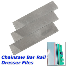 3Pcs General Chainsaw Bar Rail Dresser Files For Robot Lawn Mower Chiansaw Parts Garden Saw Chain Files(China)