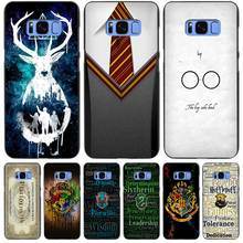 Harry Potter Gryffindor Tie Black Case Cover Shell Coque for Samsung Galaxy S3 S4 S5 Mini S6 S7 S8 Edge Plus S8+(China)