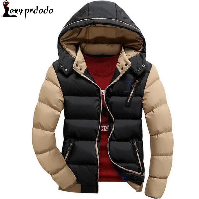 Winter Men Jacket down Coat Thicken Coats Casual Hooded Jacket Men Outerwear Plus Size XXXL Bones Masculino Mens Fur Jacket NEW