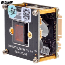 "GADINAN 5MP IPC Module CCTV Board H.265/H.264 XM ONVIF Hi3516A+1/1.8"" SONY IMX178  low illumination with IR-CUT and LAN Cable"