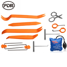 Super PDR Lock Picks Kit Lock Pick Set Machine For Making Keys Locksmith Tools Pump Wedge Lock Pick Car Opening Tools 13 pcs/set(China)