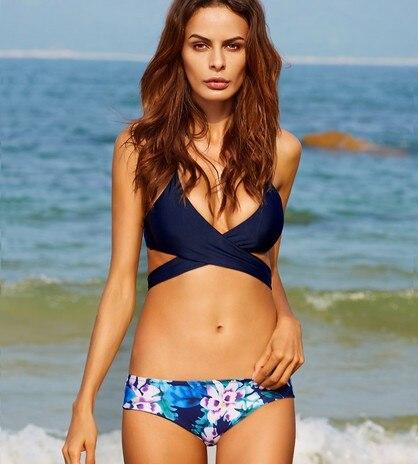 Sexy Bikini 2017 Swimwear Women Swimsuit Bandage Bikini Set Bathing Suits Bqiuini Maillot De Bain Femme Brazilian Thong Swimsuit<br><br>Aliexpress