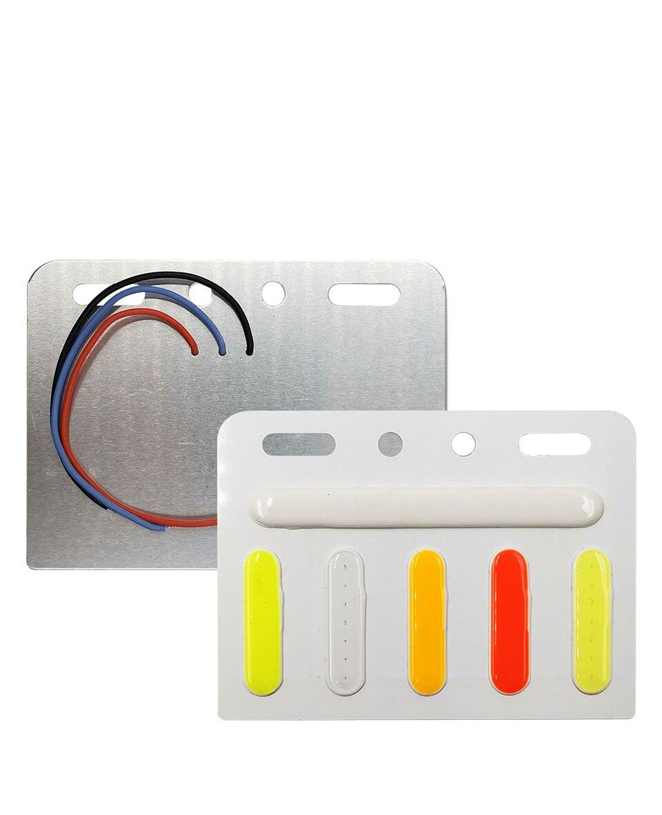 5 Colors Flash Led Lights for Truck Decoration Lamp 24V COB LED Bulb Lorry Warning Strobe Lamp DC24V LED Lighting Traffic Light (3)