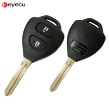 Keyecu New Uncut Remote Key Remote Control Fob 2 Button 433MHz with G Chip for Toyota Hilux 2009+,B41TH(China)