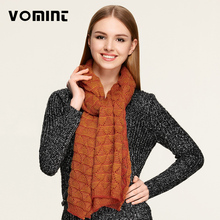 Circle Cable Crochet Knit Scarf Shawl Wrap Winter Warm Cowl Neck Stoles AP401023(China)