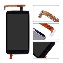 For HTC One X S720e G23 LCD Display Touch Screen Digitizer Assembly, Black Free Shipping