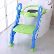 2017 New Arrival Idea Design Portable Ladder Toilet Baby Potty Training Chair Plastic Toilet Seat 3 Color