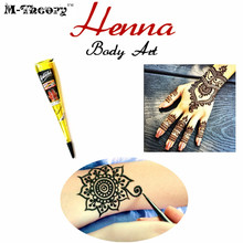 M-theory Mehndi Henna 25g Body Arts Paint Temporary Tatoos Mehndi Flash Tattoos Waterproof Henna Swimsuit Bikini Makeup Tools