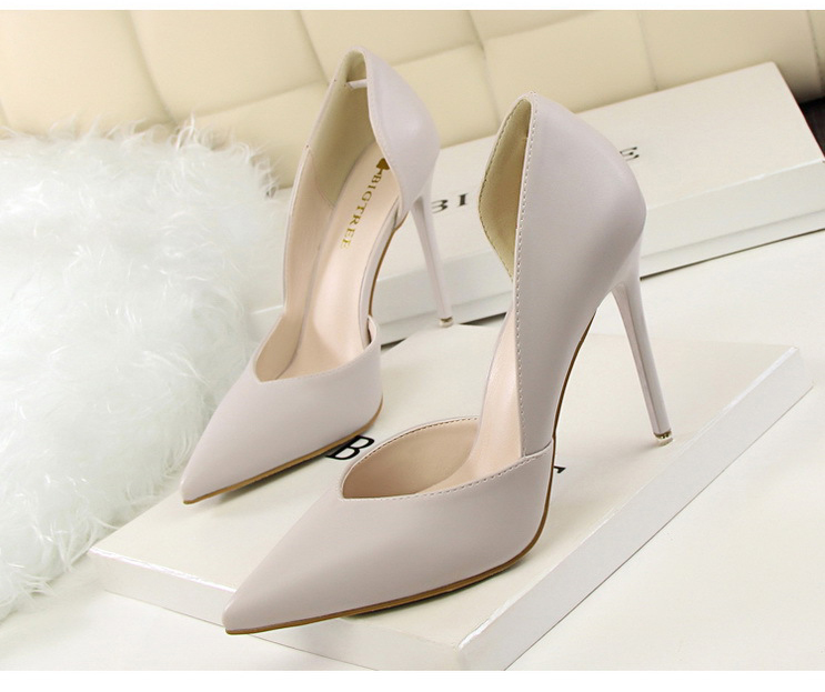 Women Pumps Fashion High Heels Shoes Black Pink Yellow Shoes Women bridal Wedding Shoes Ladies 16