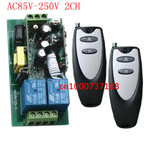 AC110V 220V 250V 2CH Long Distance Remote Switch,Radio Controller/Transmitter & Receiver,electrical switch Power switch