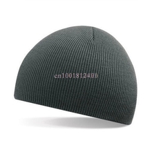 Men Slouch Skull Cap Beanie Women Baggy Winter Warm Cap Crochet Knit Hat New