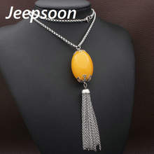 Buy Jeepsoon Fashion Stainless Steel Jewelry Woman 800mm Long Sweater Round Chain Necklace High Newest NEIHAABC for $4.21 in AliExpress store