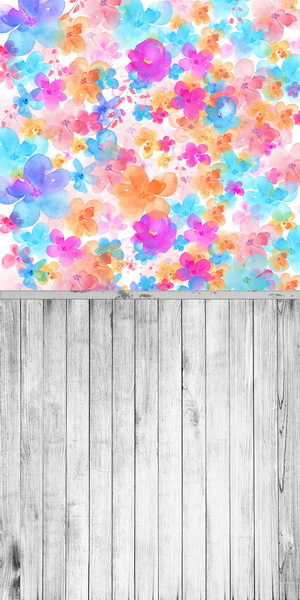 5X10ft Thin Vinyl photography background Customize flower Pattern Backdrops Digital Printing Background for photo Studio  F-1286<br>