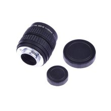 "Neewer 35mm f1.7 2/3"" CCTV Movie Lens For Sony NEX cameras with C-NEX adapter and MFT M4/3 Olympus Pen for Panasonic Lumix(China)"