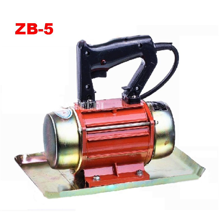 New 220V 250W ZB-5 Hand-held Iron Shell Cement Vibrating Troweling Concrete Vibrator With 3m Cable 2800-3000 times/m 29cm*21cm<br>