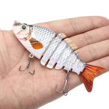 Lixada 10cm 21g Isca Artificial Fishing Lure Crankbait Hard Fishing Bait Swimbait Pesca Lures for Bass Pike Fishing Tackle(China)