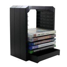 Universal Game & Blu Ray Disc Storage Tower Shelf Stand Kit for Xbox One PS3 PS4 w/ Original Retail Box(China)