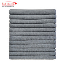 Absorbent Microfiber Dish Cloth car Kitchen Streak Free Cleaning Cloth Dish Rags Lens Cloths 12inchx12inch 12 Pack Grey(China)