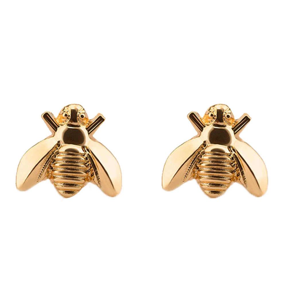 ed897638e Detail Feedback Questions about Cute Tiny Bee Earring Jewelry Gold/Silver  Color Honey Bee Earrings Stud Unique Earrings Jewelry For Women on  Aliexpress.com ...