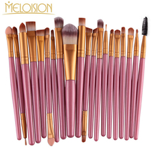 Professional Makeup Brushes Set Eye Shadow Blush Powder Foundation Eyeliner Lip Eyebrow Make Up Brushes Cosmetics Kit Maquiagem