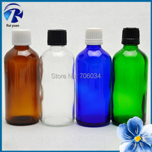 E Cig Liquid Bottle Essential Oil 100ml Small Empty Amber Blue Green Clear Glass Bottle Perfume Bottles China Small Glass Bottle